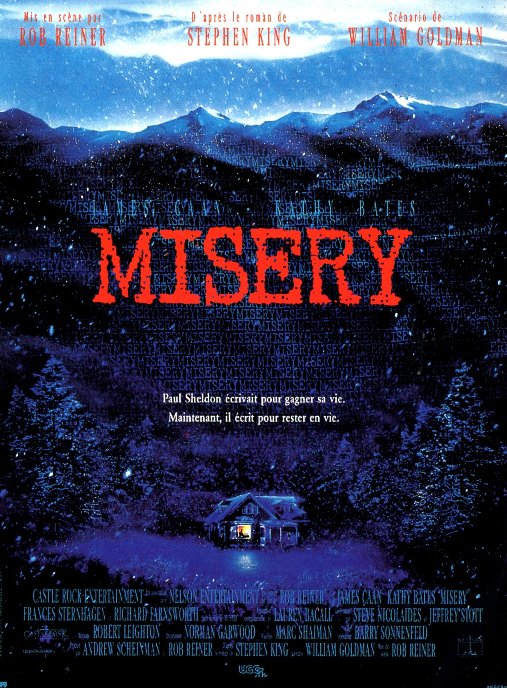 affiche du film Misery