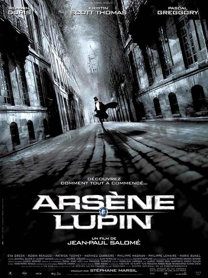 affiche du film Arsène Lupin