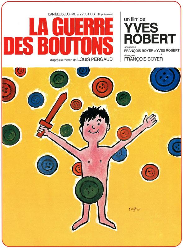 affiche du film La guerre des boutons (1962)