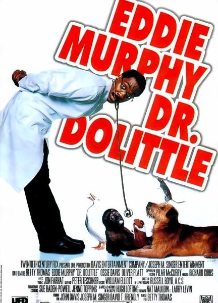affiche du film Dr Dolittle