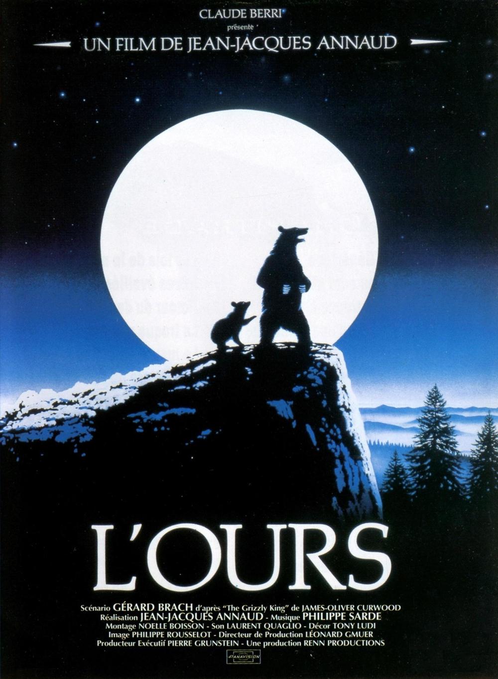 affiche du film L'ours