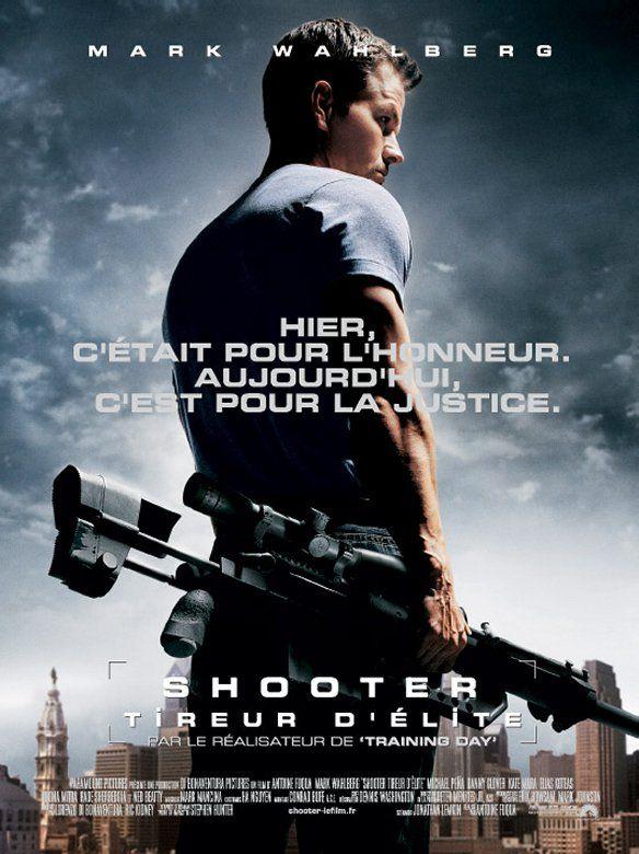 affiche du film Shooter, tireur d'élite