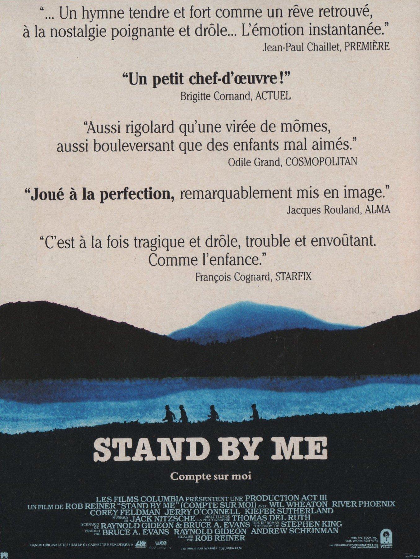 affiche du film Stand by me : Compte sur moi