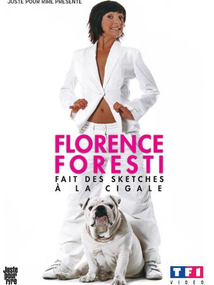 affiche du film Florence Foresti fait des sketches à La Cigale