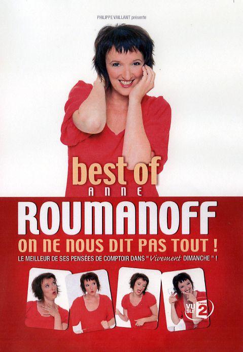 affiche du film Anne Roumanoff: On ne nous dit pas tout ! (Best of)
