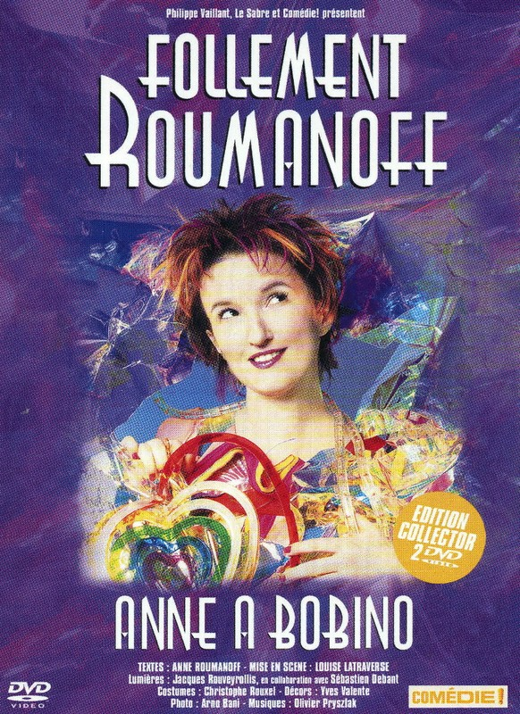 affiche du film Anne Roumanoff - Follement Roumanoff