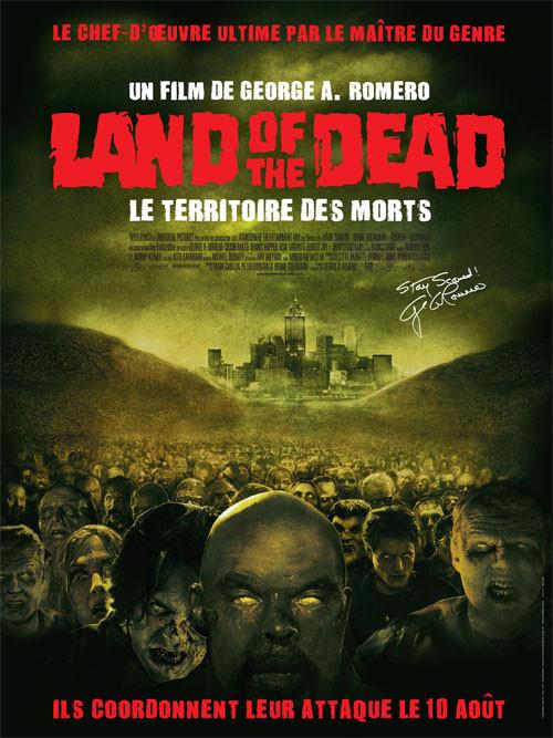 affiche du film Land of the Dead - Le territoire des morts