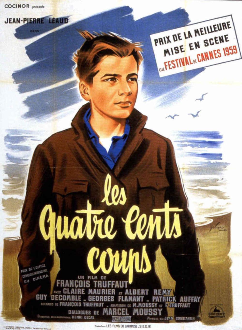 affiche du film Les Quatre Cents Coups