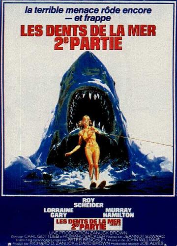 affiche du film Les dents de la mer, 2e partie
