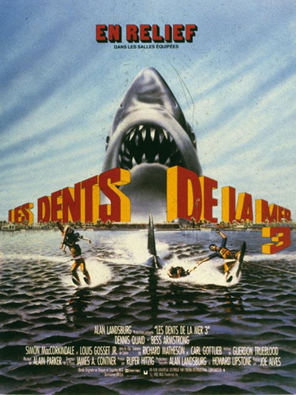 affiche du film Les dents de la mer 3