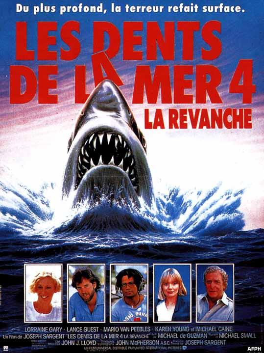 affiche du film Les dents de la mer 4: La revanche