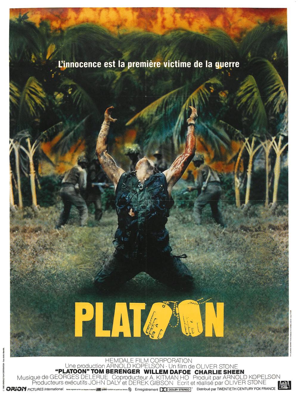 affiche du film Platoon