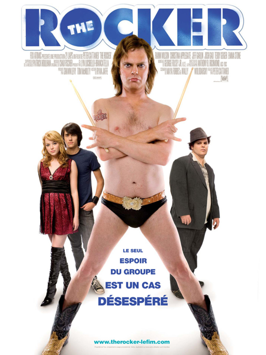 affiche du film The Rocker