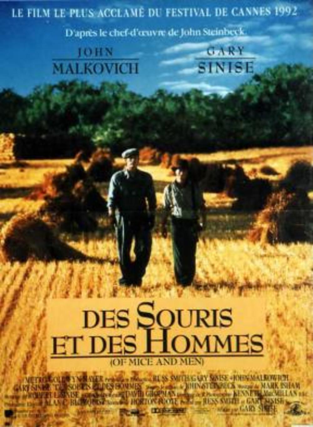 affiche du film Des souris et des hommes (1992)