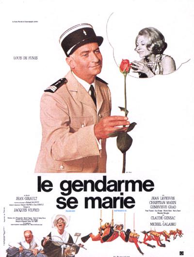 affiche du film Le Gendarme se marie