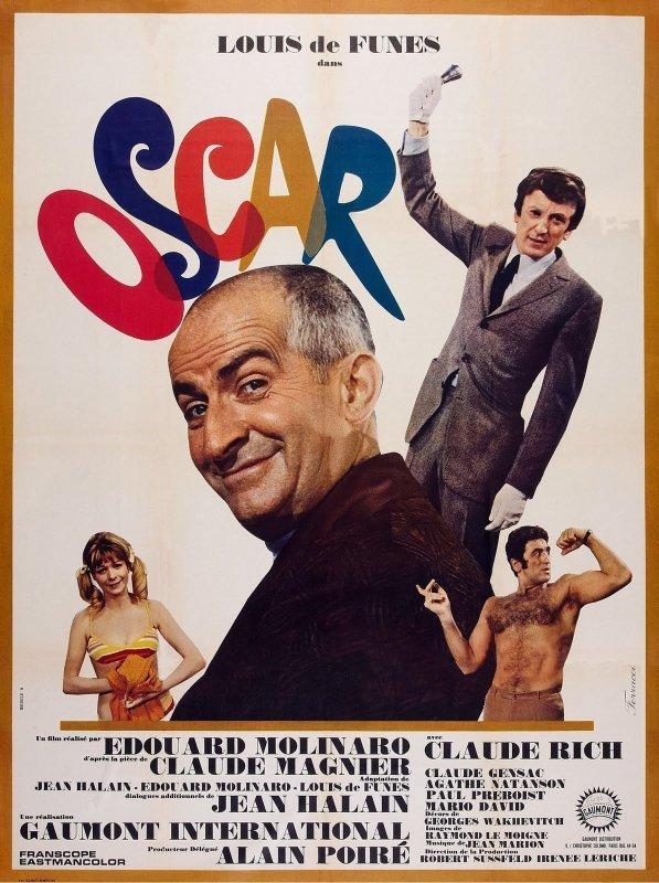 affiche du film Oscar (1967)