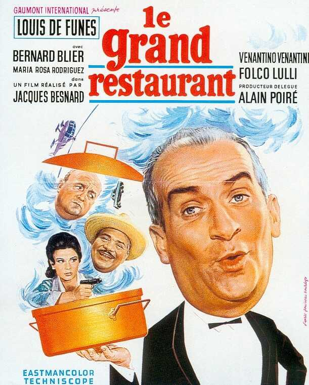 affiche du film Le Grand Restaurant (1966)