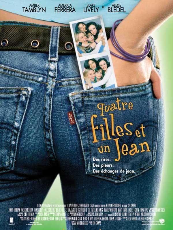 affiche du film Quatre filles et un jean