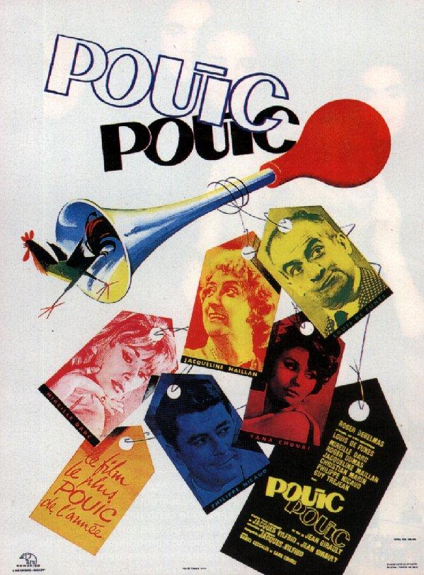 affiche du film Pouic-pouic