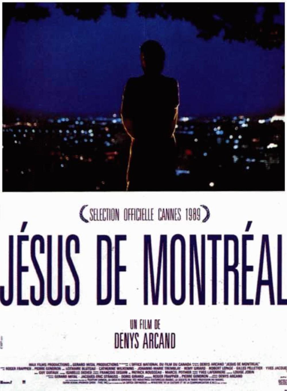 affiche du film Jésus de Montréal