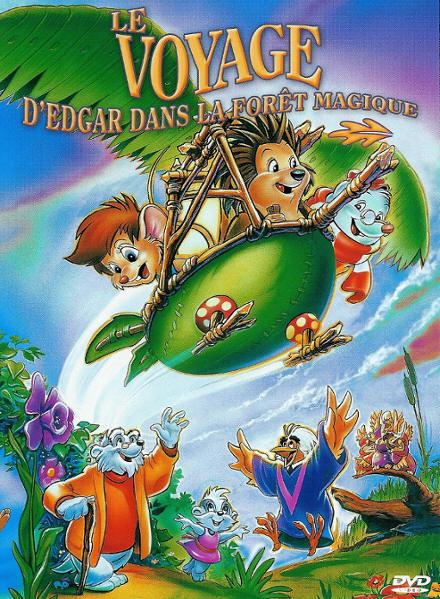 affiche du film Le voyage d'Edgar dans la forêt magique