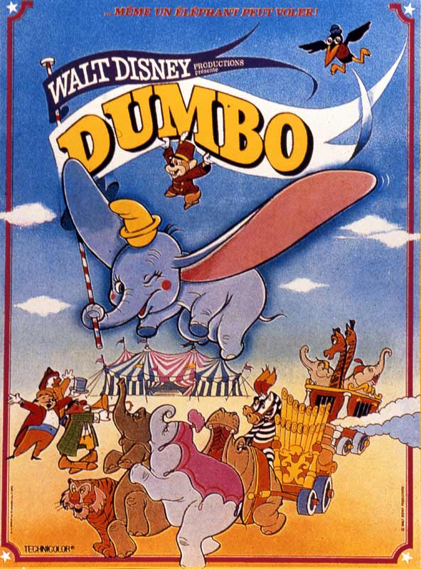 affiche du film Dumbo (1941)