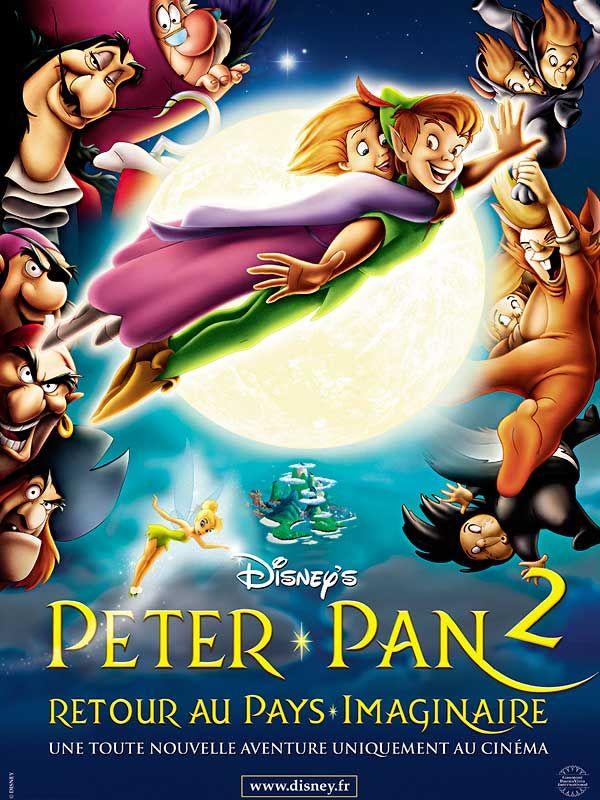 affiche du film Peter Pan dans Retour au pays imaginaire