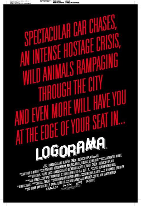 affiche du film Logorama©