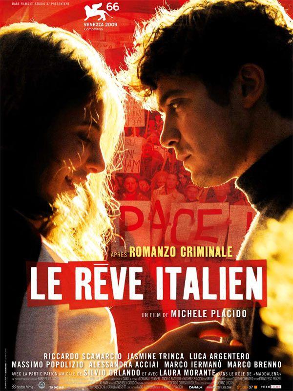 affiche du film Le rêve italien