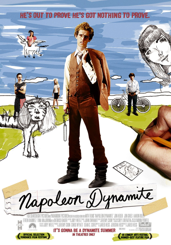 affiche du film Napoleon Dynamite