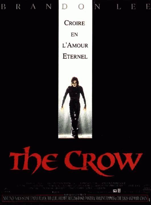 affiche du film The Crow