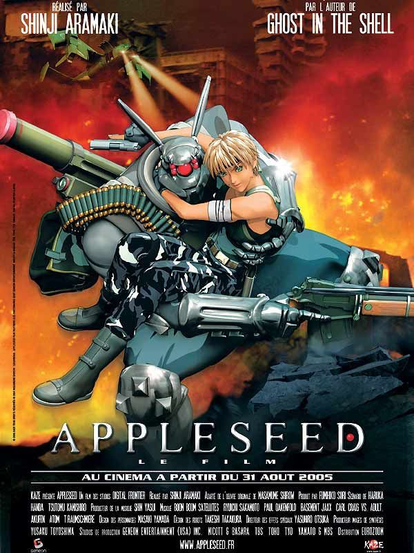 affiche du film Appleseed