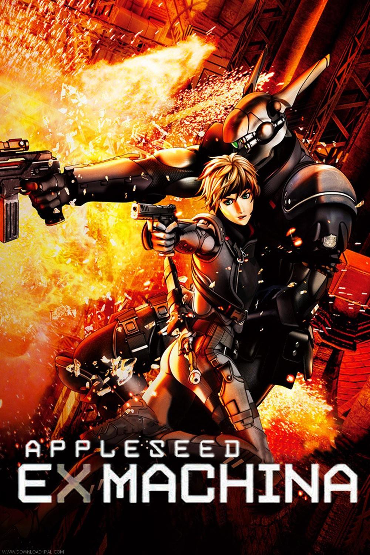 affiche du film Appleseed Ex Machina