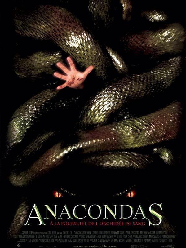 affiche du film Anacondas : À la poursuite de l'orchidée de sang