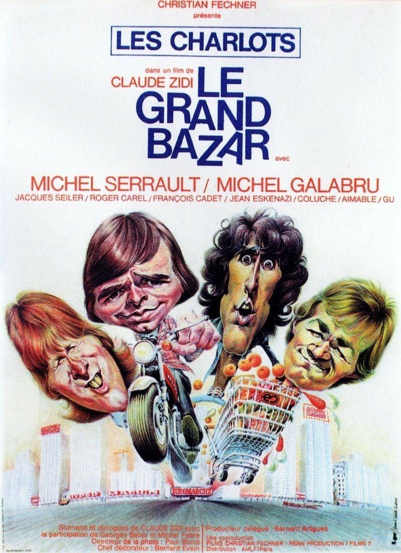 affiche du film Le grand bazar