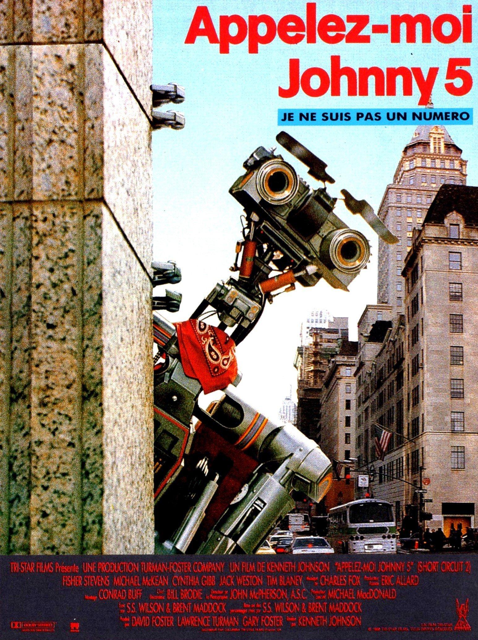 affiche du film Appelez-moi Johnny 5