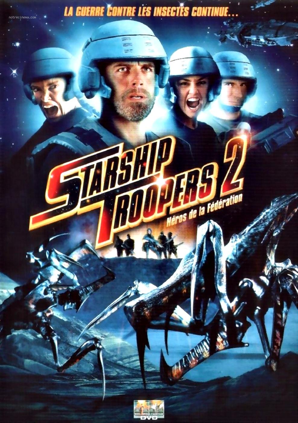 affiche du film Starship Troopers 2 : Héros de la fédération