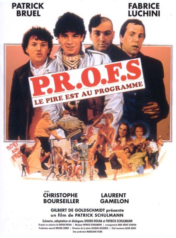 affiche du film P.R.O.F.S.