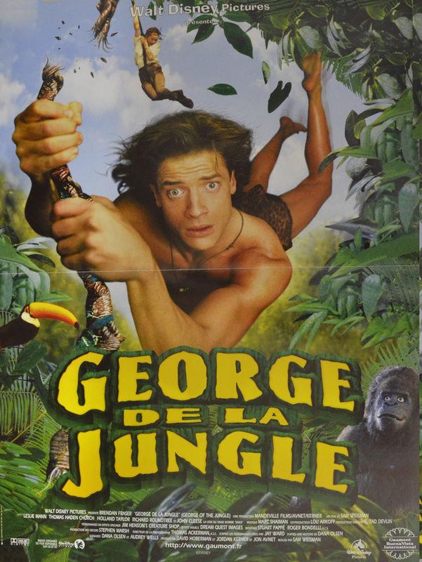affiche du film George de la jungle