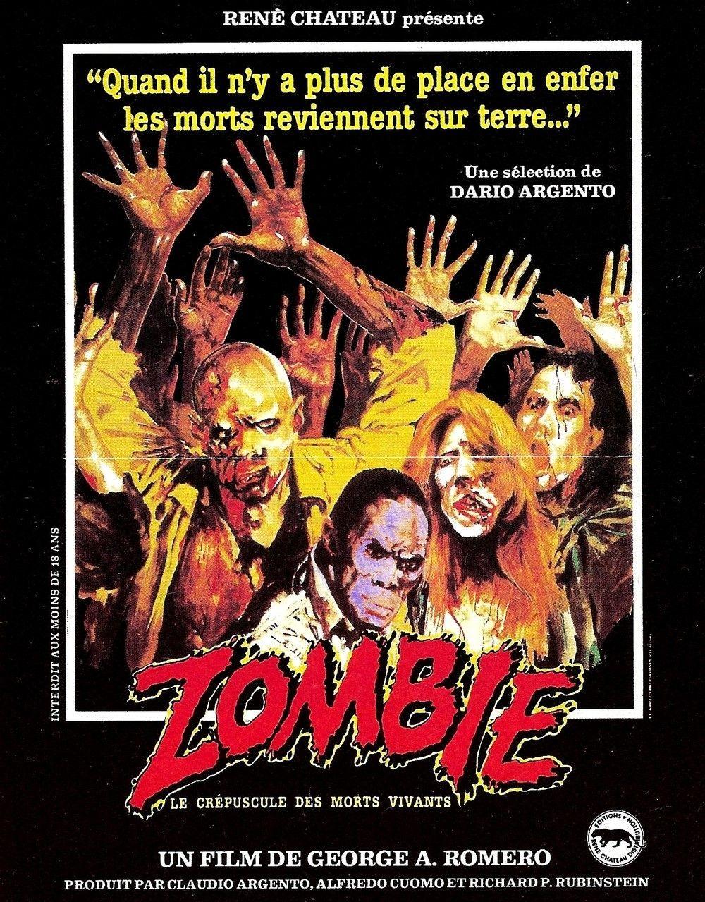 affiche du film Zombie: Le crépuscule des morts-vivants