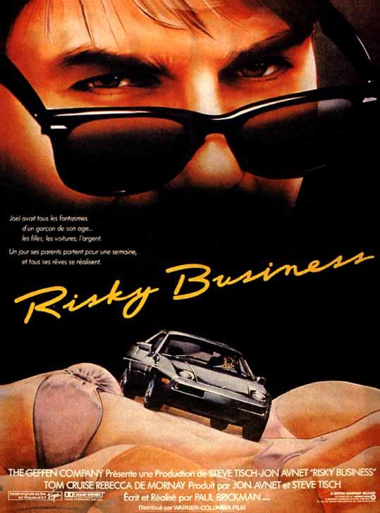 affiche du film Risky Business