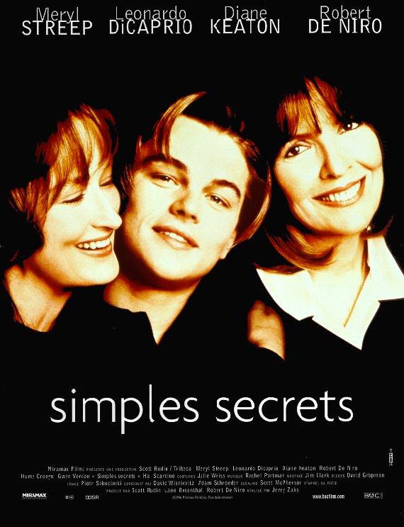 affiche du film Simples secrets