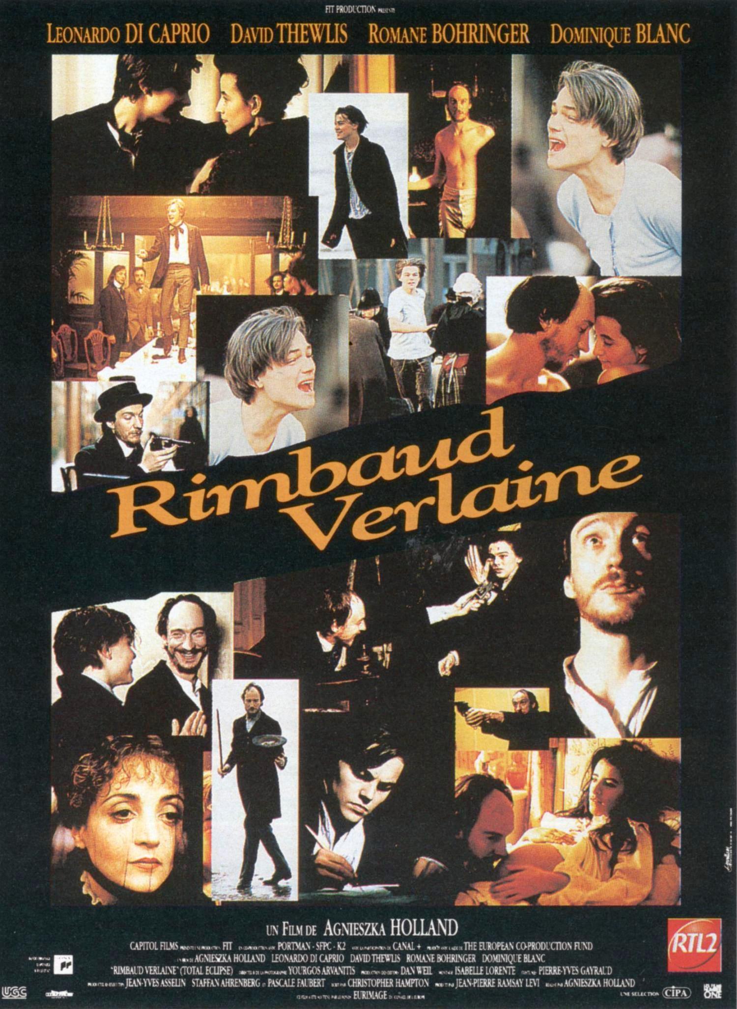 affiche du film Rimbaud Verlaine
