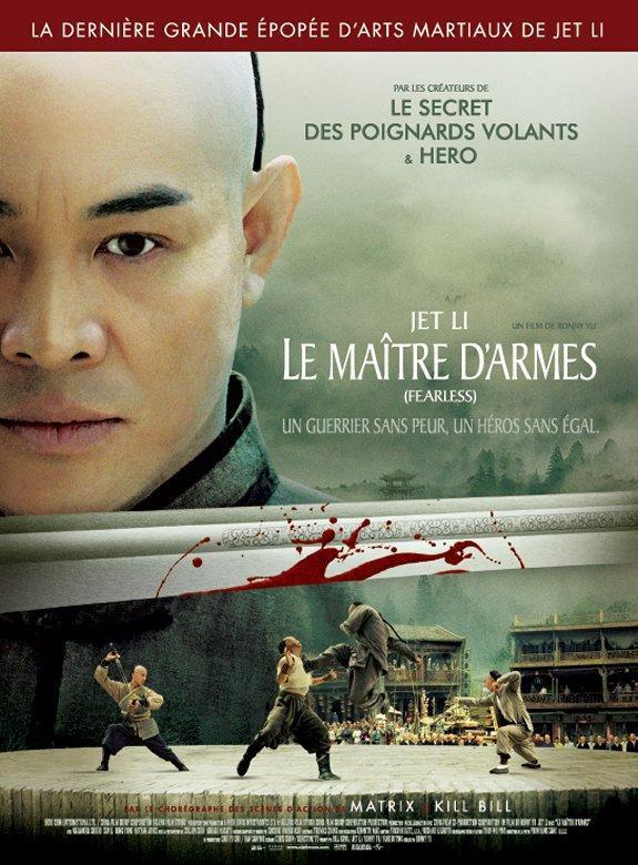 affiche du film Le maître d'armes