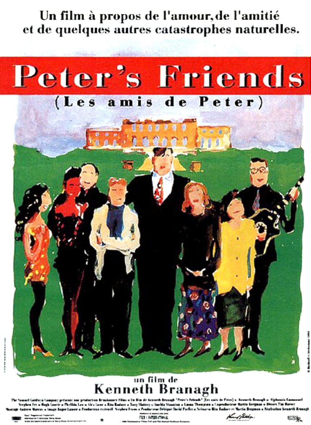 affiche du film Peter's Friends