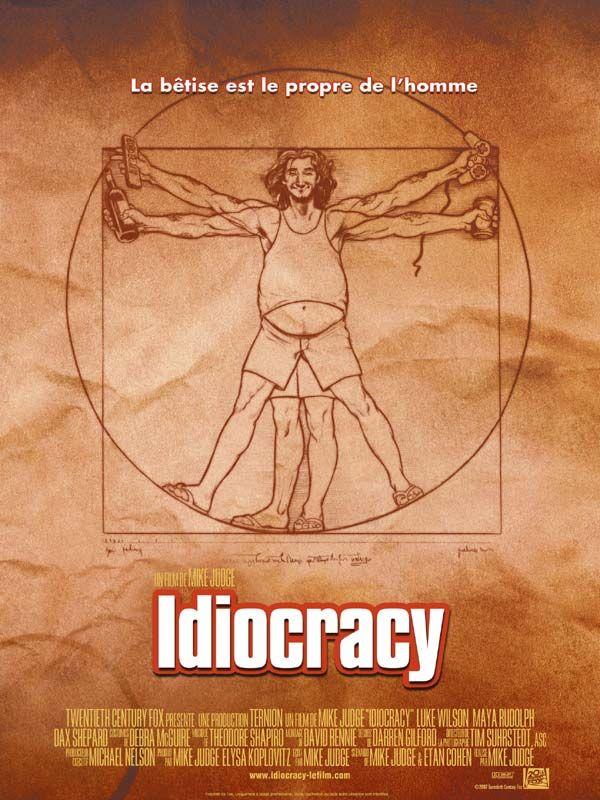 affiche du film Idiocracy