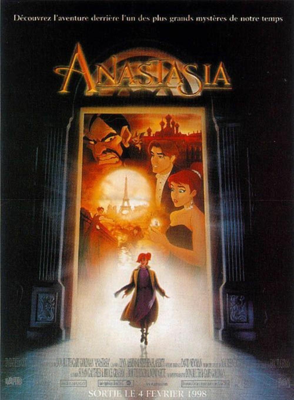 affiche du film Anastasia (1997)