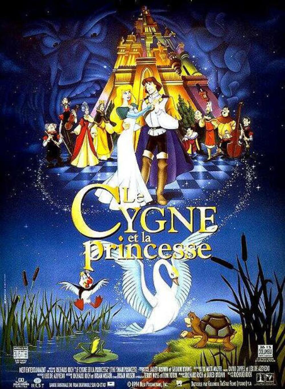 affiche du film Le cygne et la princesse