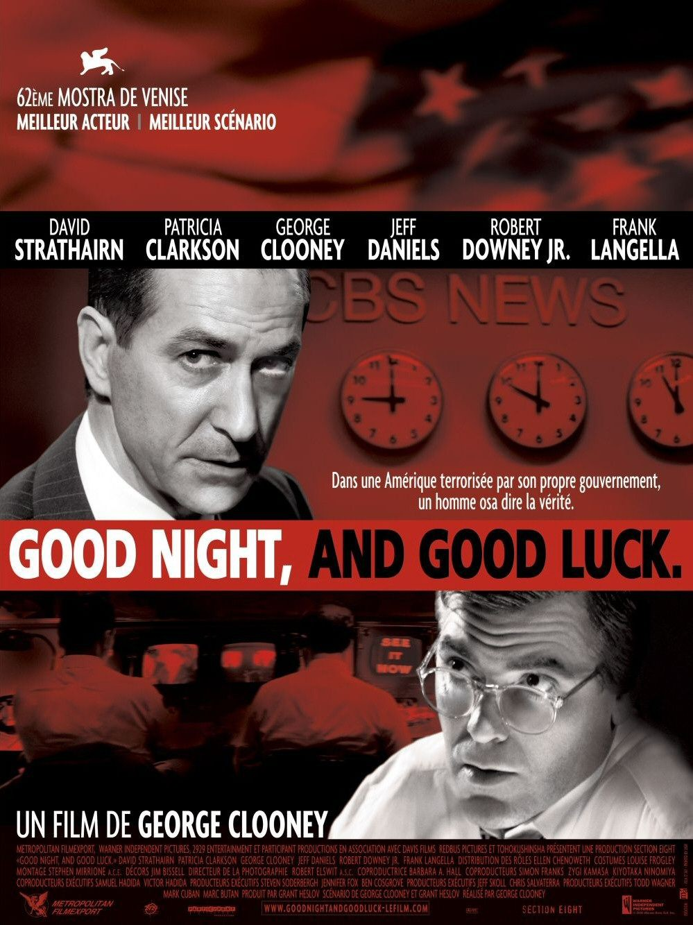 affiche du film Good Night, and Good Luck
