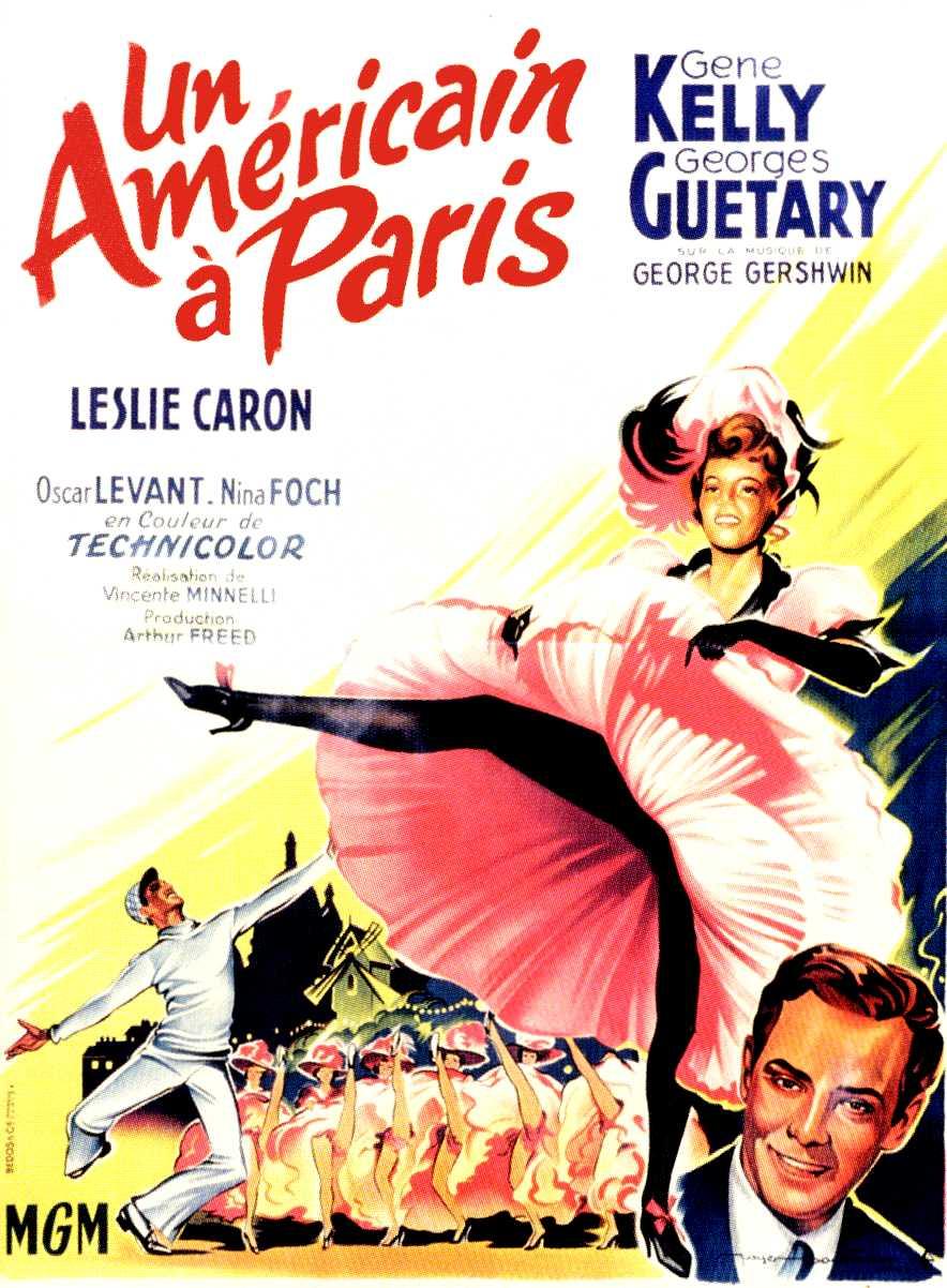 affiche du film Un Américain à Paris